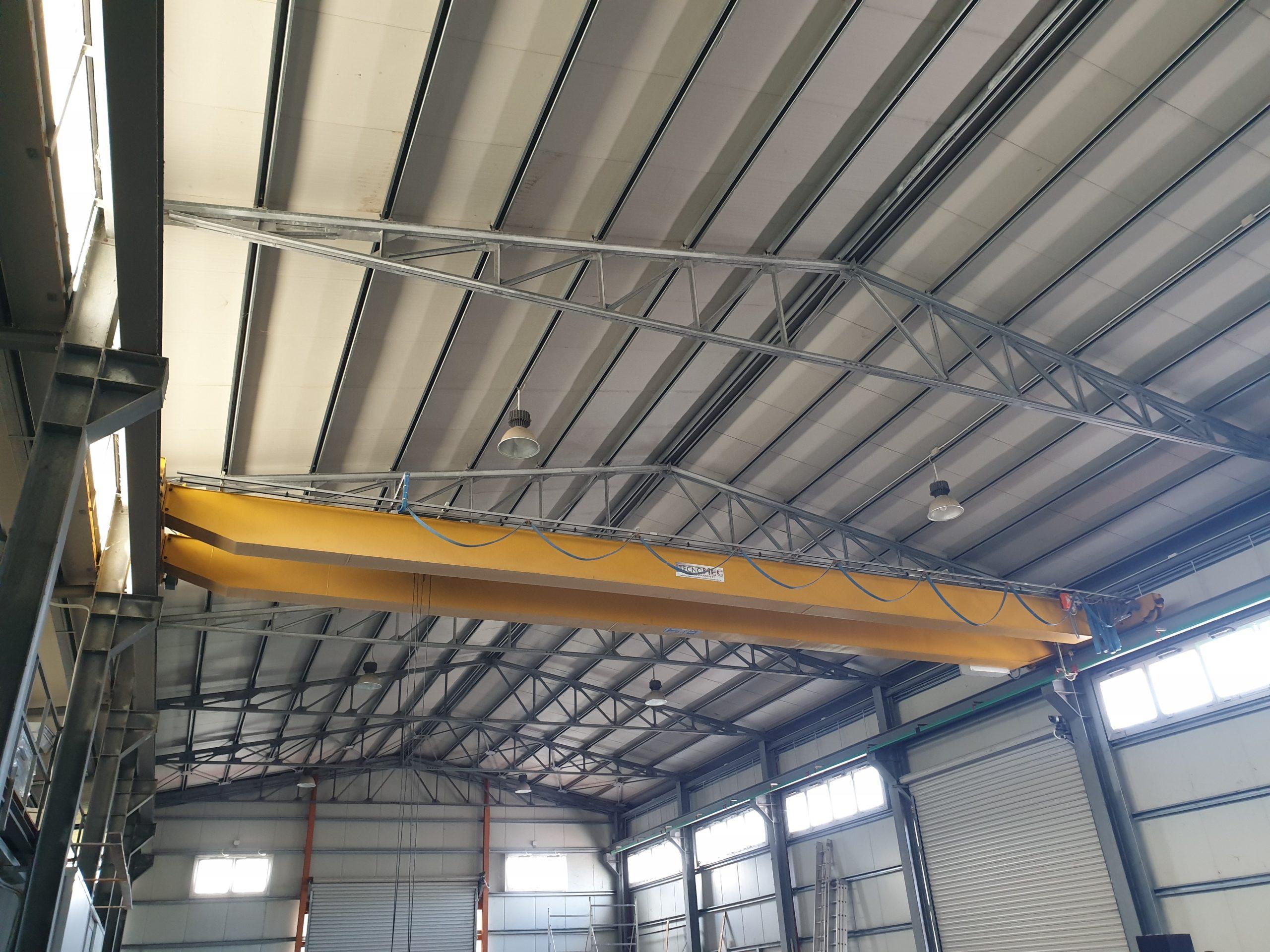 16 bis Produzione carpenteria metallica , opificio nostra realizzazione