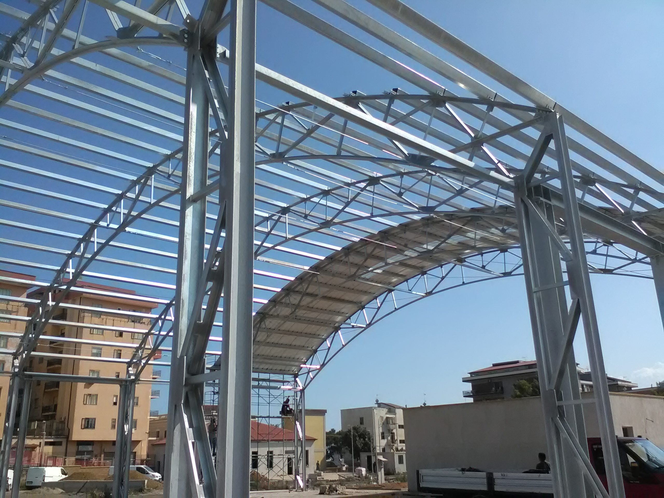 24Montaggio struttura non realizzata dalla nostra azienda lavoro eseguito su Catanzaro jpg