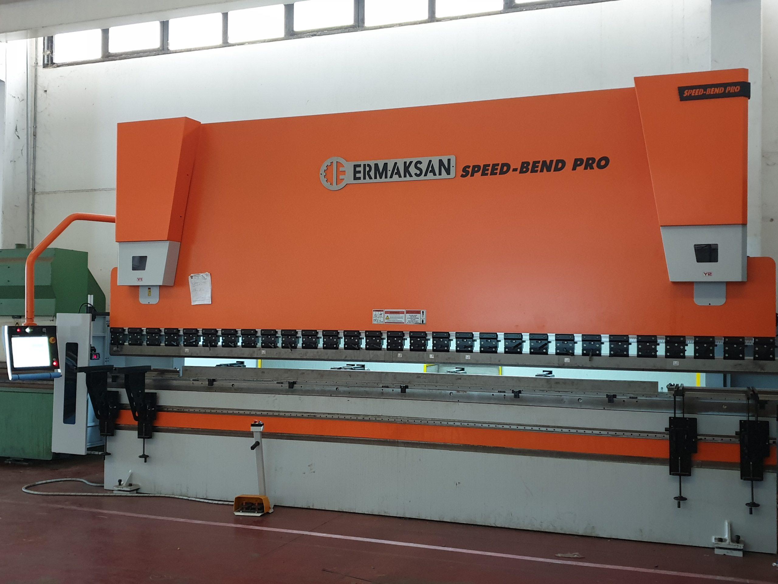 Pressa piegatrice da carpenteria 6 m (320 tons)